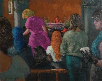 Patrick Leonard, Mass, Skerries (1978) at Morgan O'Driscoll Art Auctions