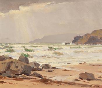 Maurice Canning Wilks, Breezy Morning, Cushendun, Co. Antrim at Morgan O'Driscoll Art Auctions