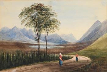 Andrew Nicholl, Lakes of Killarney at Morgan O'Driscoll Art Auctions