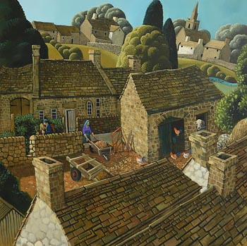George Callaghan, The Homestead at Morgan O'Driscoll Art Auctions