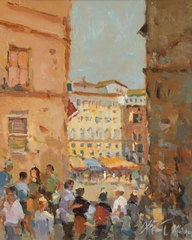 Liam Treacy, Siena, Midday at Morgan O'Driscoll Art Auctions