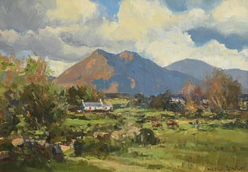 Maurice Canning Wilks, Homestead in the Mournes at Morgan O'Driscoll Art Auctions
