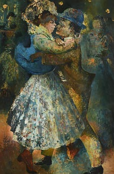 Daniel O'Neill, Old Time Dance at Morgan O'Driscoll Art Auctions