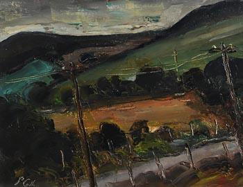 Peter Collis, Downes Hill III at Morgan O'Driscoll Art Auctions