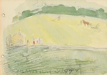 Jack Butler Yeats, Callard's Hay at Morgan O'Driscoll Art Auctions