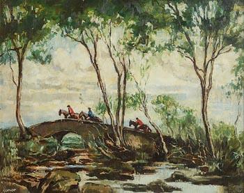 William Conor, The Hunt at Morgan O'Driscoll Art Auctions