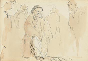 Jack Butler Yeats, Friends at Morgan O'Driscoll Art Auctions
