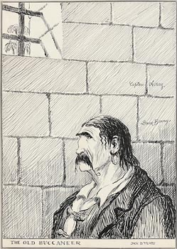 Jack Butler Yeats, The Old Buccaneer at Morgan O'Driscoll Art Auctions