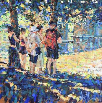 Arthur K. Maderson, The Bridge, San Jean du Gard at Morgan O'Driscoll Art Auctions