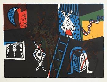Alan Davie, Zurich Improvisation (1970) at Morgan O'Driscoll Art Auctions