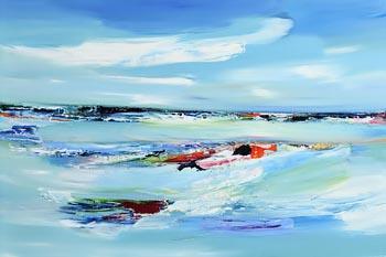 Majella O'Neill Collins, A Memory, Sherkin Island (2020) at Morgan O'Driscoll Art Auctions