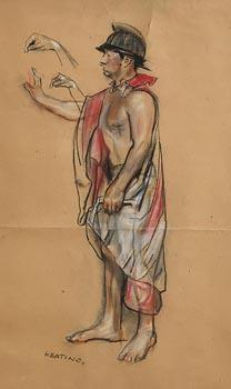 Sean Keating, Centurion at Morgan O'Driscoll Art Auctions
