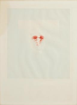 Louis Le Brocquy, Study (52) Towards an Image of W.B.Yeats (1975) at Morgan O'Driscoll Art Auctions