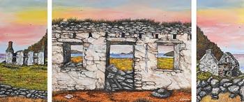 John Verling, West Cork Ruins (2004) at Morgan O'Driscoll Art Auctions