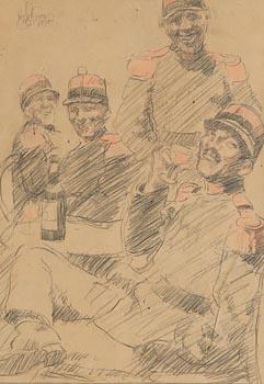 William Conor, The Celebration at Morgan O'Driscoll Art Auctions