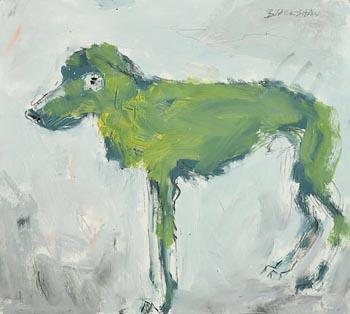 Basil Blackshaw, Dog at Morgan O'Driscoll Art Auctions