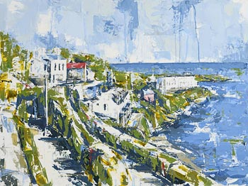 Yvonne Moore, From Vico Road at Morgan O'Driscoll Art Auctions