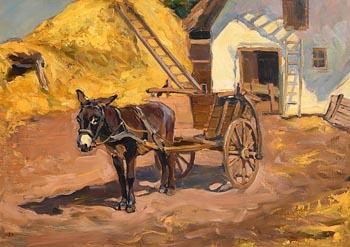Lilian Lucy Davidson, The Farm Yard at Morgan O'Driscoll Art Auctions