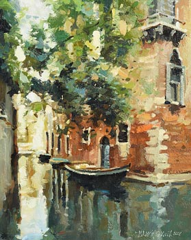 Mark O'Neill, Side Canal Green (2007) at Morgan O'Driscoll Art Auctions
