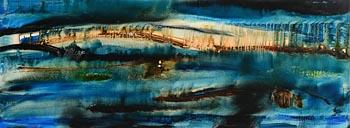 Padraig MacMiadhachain, Wind Below the Sea at Morgan O'Driscoll Art Auctions