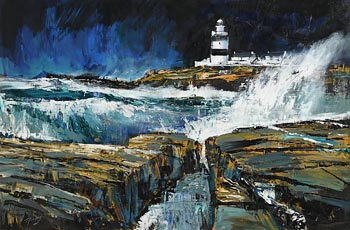 J.P. Rooney, Hook Head Lighthouse, Co. Wexford at Morgan O'Driscoll Art Auctions