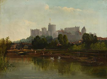 James Baylis Allan, Windsor Castle at Morgan O'Driscoll Art Auctions
