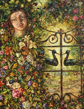 Mark Shields, The Uttermost Gate (1986) at Morgan O'Driscoll Art Auctions