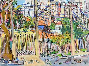 Elizabeth Cope, Urban Jungle at Morgan O'Driscoll Art Auctions