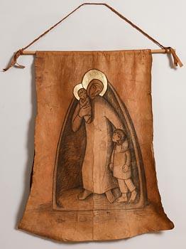 Imogen Stuart, Madonna and Child (1999) at Morgan O'Driscoll Art Auctions