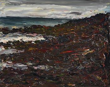 Peter Collis, Wicklow Coast at Morgan O'Driscoll Art Auctions