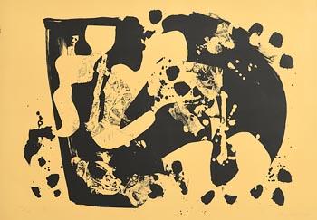Alan Davie, Zurich Improvisation II (1966) at Morgan O'Driscoll Art Auctions