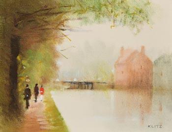 Anthony Robert Klitz, Huband Bridge, Dublin (1982) at Morgan O'Driscoll Art Auctions