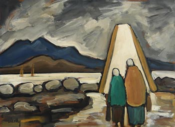 Markey Robinson, Down to the Sea, Mountains of Mourne at Morgan O'Driscoll Art Auctions
