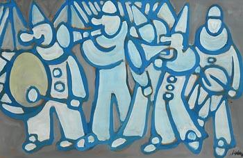 Markey Robinson, Circus Band at Morgan O'Driscoll Art Auctions