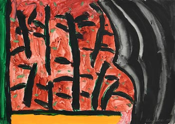 William Crozier, Trees in Landscape (1995) at Morgan O'Driscoll Art Auctions