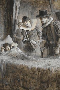 John Butler Yeats, Awakened by Music at Morgan O'Driscoll Art Auctions