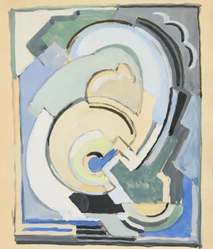 Mainie Jellett, Cubist Composition at Morgan O'Driscoll Art Auctions