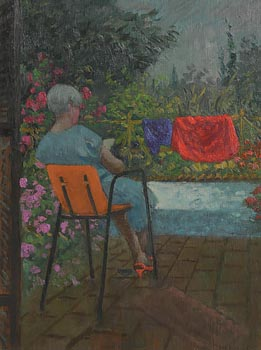 Patrick Leonard, Doreen Reading (1985) at Morgan O'Driscoll Art Auctions