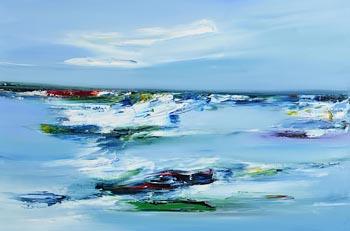 Majella O'Neill Collins, Seas, Sherkin (2020) at Morgan O'Driscoll Art Auctions