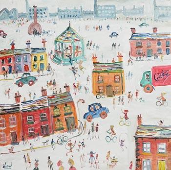 Simeon Stafford, Northern Scene at Morgan O'Driscoll Art Auctions
