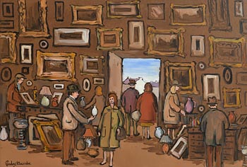Gladys MacCabe, The Antique Shop at Morgan O'Driscoll Art Auctions