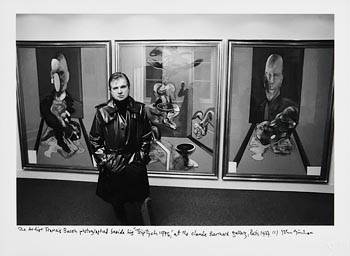 John Minihan, Francis Bacon beside his Triptych, Paris at Morgan O'Driscoll Art Auctions