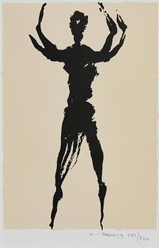 Louis Le Brocquy, Dancing Figure at Morgan O'Driscoll Art Auctions
