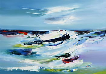 Majella O'Neill Collins, Tidal Wave, Sherkin (2020) at Morgan O'Driscoll Art Auctions