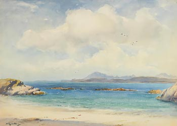 Wycliffe Egginton, Connemara Coastline at Morgan O'Driscoll Art Auctions