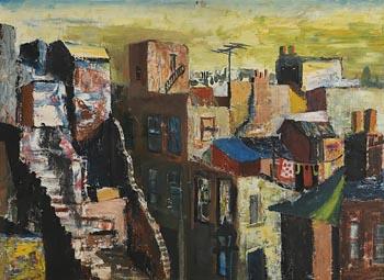 Seamus O'Colmain, George's Pocket, Dublin at Morgan O'Driscoll Art Auctions