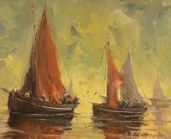 Patrick Copperwhite, Soft Winds, Galway Bay at Morgan O'Driscoll Art Auctions