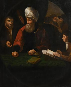 18th Century Dutch School, The Cleric at Morgan O'Driscoll Art Auctions