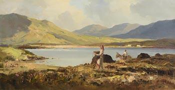 Maurice Canning Wilks, Landscape Near Recess, Connemara at Morgan O'Driscoll Art Auctions