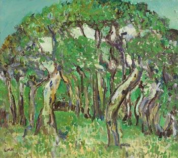 Letitia Marion Hamilton, Wooded Grove at Morgan O'Driscoll Art Auctions
